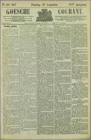 Goessche Courant 1917-08-28