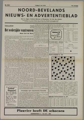 Noord-Bevelands Nieuws- en advertentieblad 1975-05-09