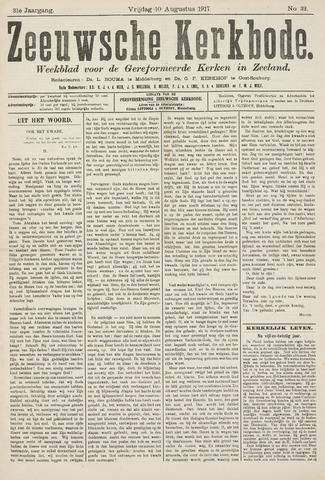 Zeeuwsche kerkbode, weekblad gewijd aan de belangen der gereformeerde kerken/ Zeeuwsch kerkblad 1917-08-10
