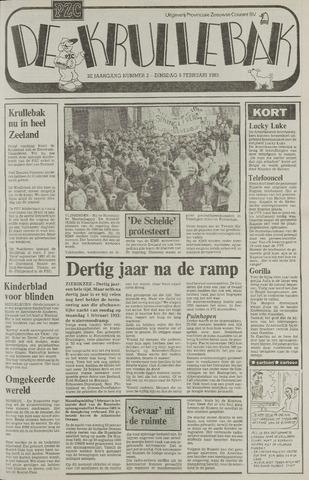 Provinciale Zeeuwse Courant katern Krullenbak (1981-1999) 1983-02-08
