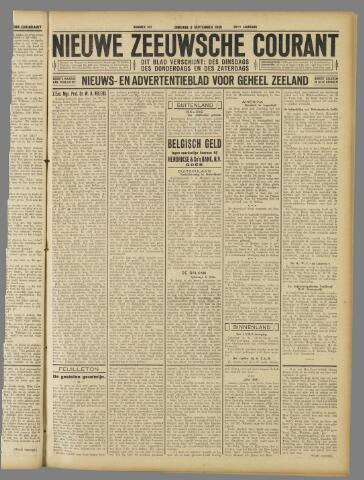 Nieuwe Zeeuwsche Courant 1930-09-09