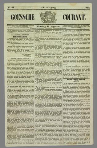 Goessche Courant 1862-08-18