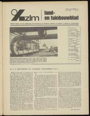 Zeeuwsch landbouwblad ... ZLM land- en tuinbouwblad 1971-11-19