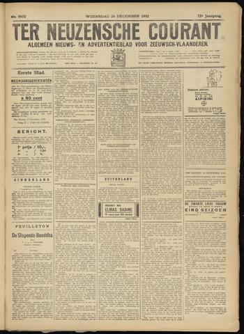 Ter Neuzensche Courant. Algemeen Nieuws- en Advertentieblad voor Zeeuwsch-Vlaanderen / Neuzensche Courant ... (idem) / (Algemeen) nieuws en advertentieblad voor Zeeuwsch-Vlaanderen 1932-12-28