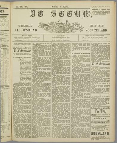 De Zeeuw. Christelijk-historisch nieuwsblad voor Zeeland 1897-08-05