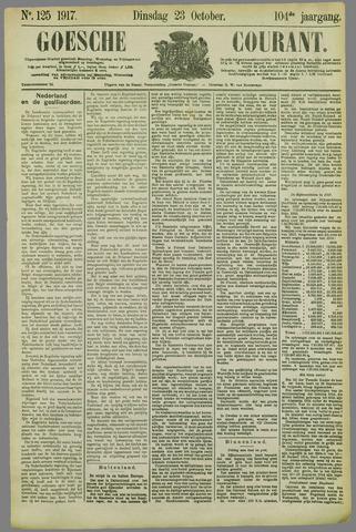 Goessche Courant 1917-10-23