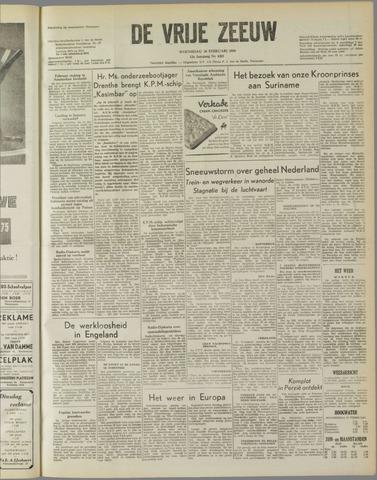 de Vrije Zeeuw 1958-02-26