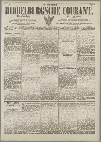 Middelburgsche Courant 1895-08-08