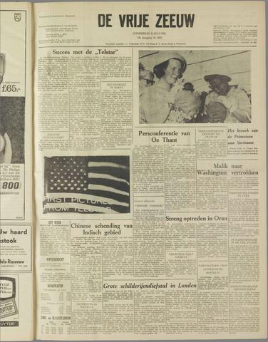 de Vrije Zeeuw 1962-07-12