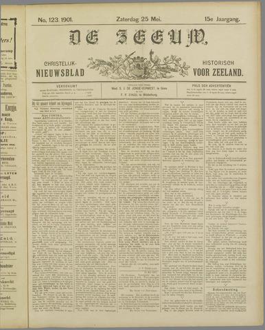 De Zeeuw. Christelijk-historisch nieuwsblad voor Zeeland 1901-05-25