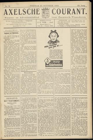 Axelsche Courant 1935-10-25
