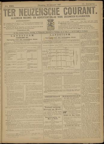 Ter Neuzensche Courant. Algemeen Nieuws- en Advertentieblad voor Zeeuwsch-Vlaanderen / Neuzensche Courant ... (idem) / (Algemeen) nieuws en advertentieblad voor Zeeuwsch-Vlaanderen 1917-01-23