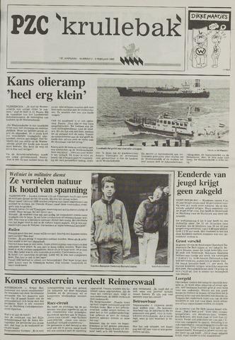 Provinciale Zeeuwse Courant katern Krullenbak (1981-1999) 1993-02-09