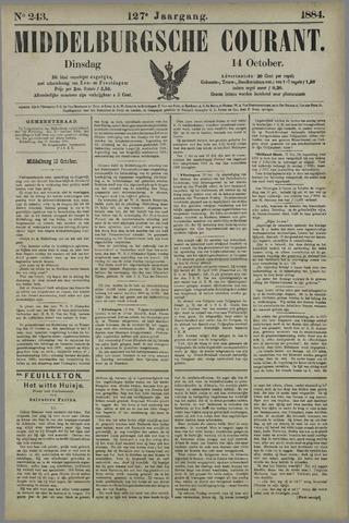 Middelburgsche Courant 1884-10-14