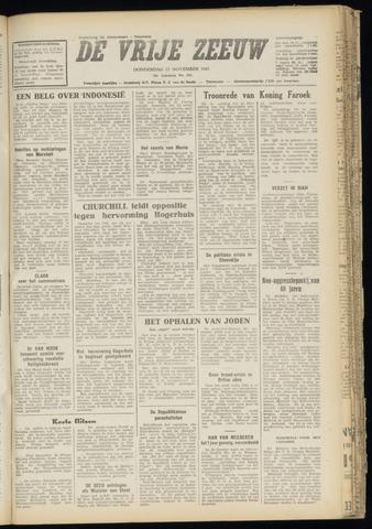 de Vrije Zeeuw 1947-11-13