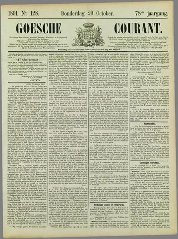 Goessche Courant 1891-10-29