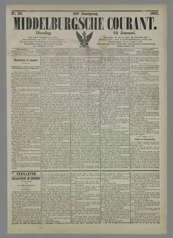 Middelburgsche Courant 1893-01-24