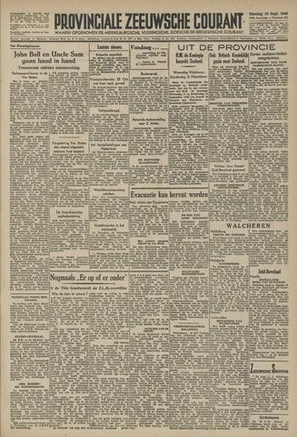 Provinciale Zeeuwse Courant 1946-09-10
