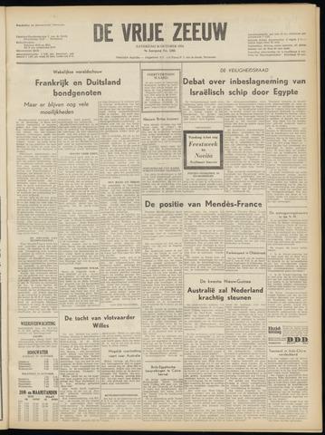 de Vrije Zeeuw 1954-10-16