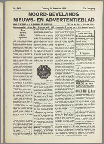 Noord-Bevelands Nieuws- en advertentieblad 1949-11-19