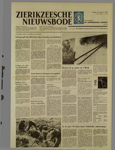 Zierikzeesche Nieuwsbode 1970-08-21