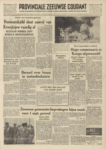 Provinciale Zeeuwse Courant 1960-09-27
