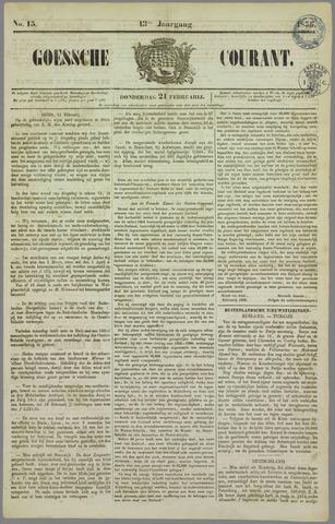 Goessche Courant 1856-02-21