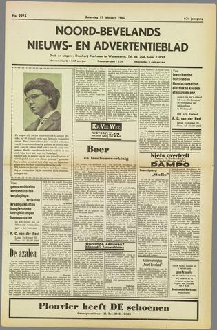 Noord-Bevelands Nieuws- en advertentieblad 1960-02-13