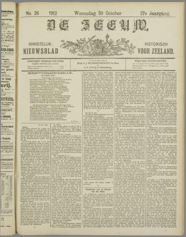 De Zeeuw. Christelijk-historisch nieuwsblad voor Zeeland 1912-10-30