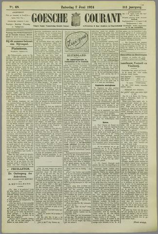 Goessche Courant 1924-06-07