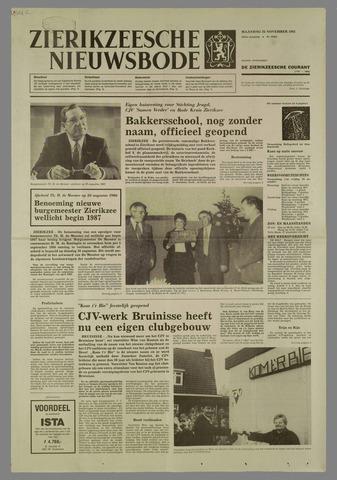 Zierikzeesche Nieuwsbode 1985-11-25