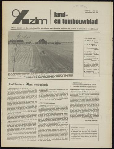 Zeeuwsch landbouwblad ... ZLM land- en tuinbouwblad 1973-04-06
