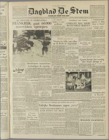 de Stem 1955-08-25