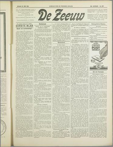 De Zeeuw. Christelijk-historisch nieuwsblad voor Zeeland 1934-06-22