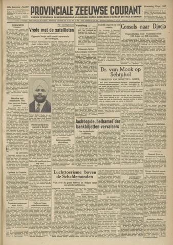 Provinciale Zeeuwse Courant 1947-09-03