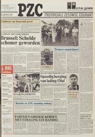 Provinciale Zeeuwse Courant 1986-07-19