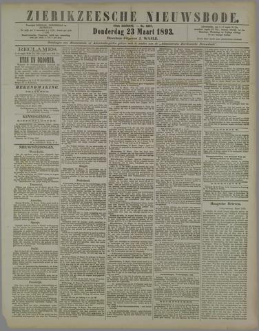 Zierikzeesche Nieuwsbode 1893-03-23