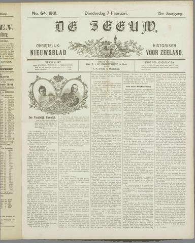 De Zeeuw. Christelijk-historisch nieuwsblad voor Zeeland 1901-02-07