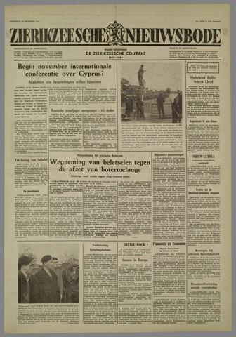 Zierikzeesche Nieuwsbode 1958-10-20
