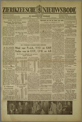 Zierikzeesche Nieuwsbode 1952-06-27