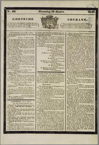Goessche Courant 1849-03-19