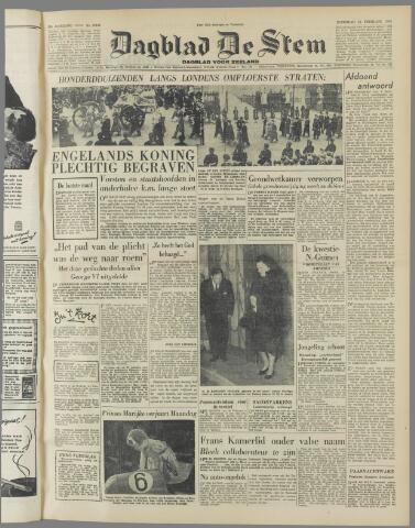 de Stem 1952-02-16