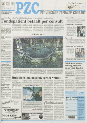 Provinciale Zeeuwse Courant 2002-02-19