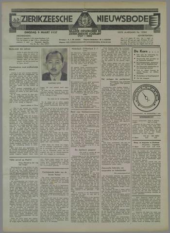 Zierikzeesche Nieuwsbode 1937-03-09