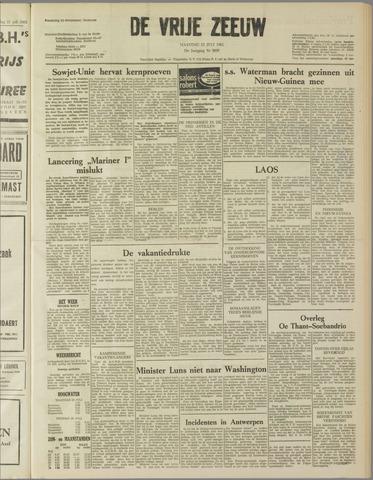 de Vrije Zeeuw 1962-07-23