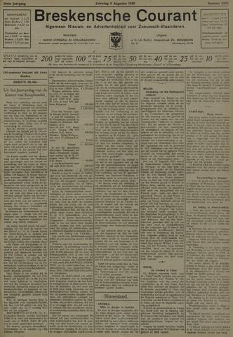 Breskensche Courant 1930-08-09