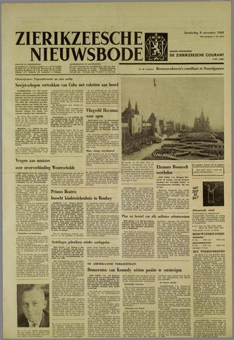 Zierikzeesche Nieuwsbode 1962-11-08