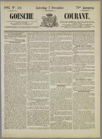 Goessche Courant 1883-12-01
