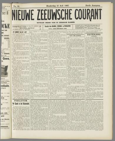 Nieuwe Zeeuwsche Courant 1907-07-11