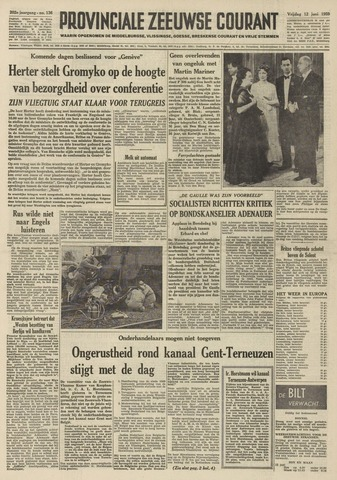 Provinciale Zeeuwse Courant 1959-06-12